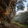 The cliffs on Malacoda trail in the Purgatory Natural Area