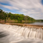 Five Mile Dam At Dudley Johnson Park in San Marcos, TX