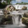 Spring Lake Falls in San Marcos, TX