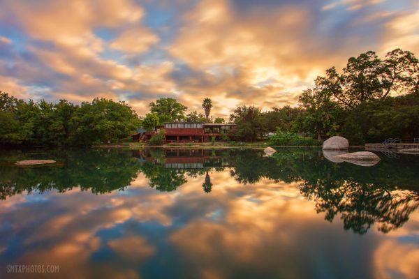 Sunrise at Rio Vista in San Marcos, TX