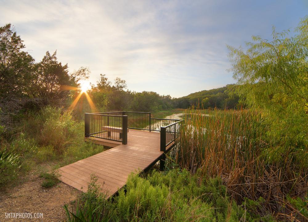 Sunrise in the Spring Lake Preserve San Marcos, TX