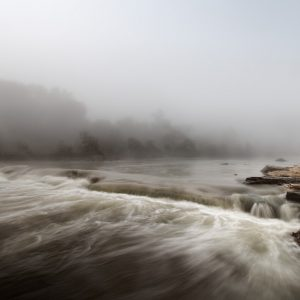 Foggy Morning on the Blanco River