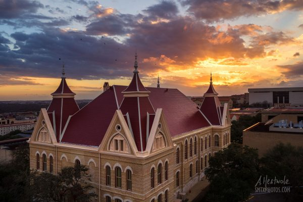 Sunset at Old Main