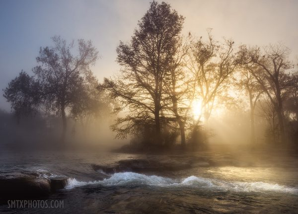 Sunrise Through the Fog at Rio Vista