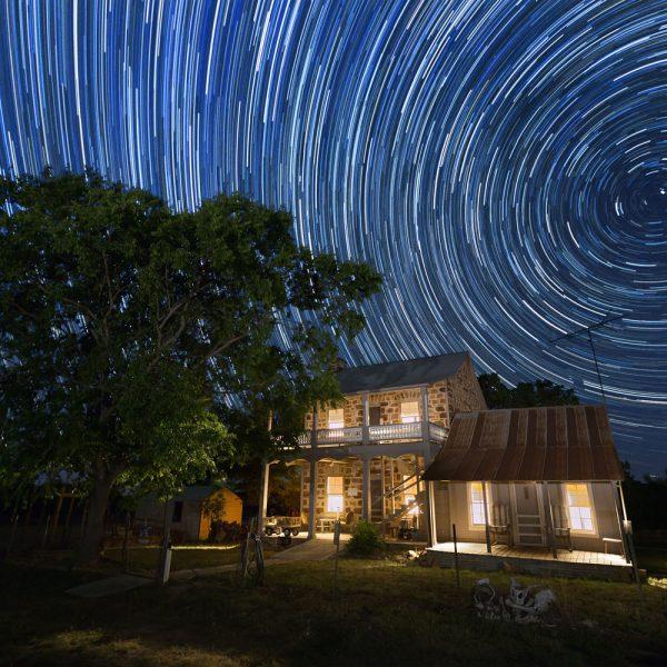 Under the light of a billion stars in Llano, TX