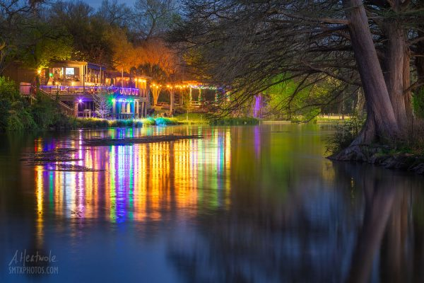 River Pub Reflections