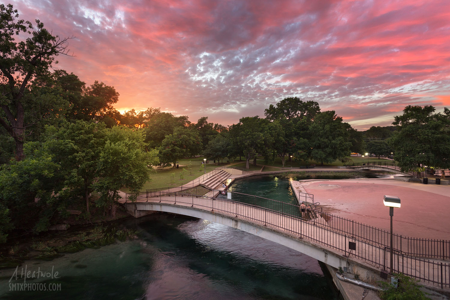 Sunset Glow at Sewell Park