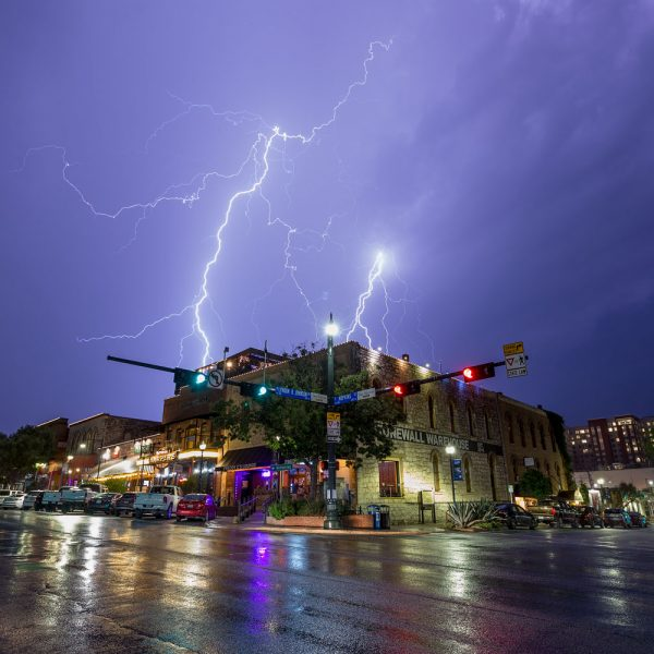 Lighting Over The Square