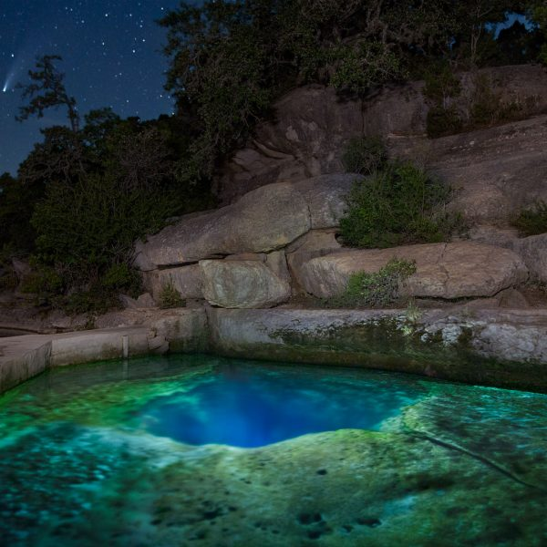Jacob's Well and The Comet