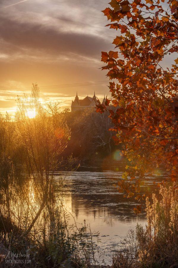 Golden Hour on Spring Lake